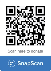 Eat Out Restaurant Relief Fund SnapScan QR Code